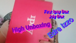 Edra Izzo's High AF First July Ipsy Unboxing