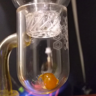 meltshot with spinner cap and terp pearls