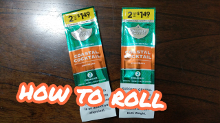 how to roll Swisher sweets coastal cocktail blunt