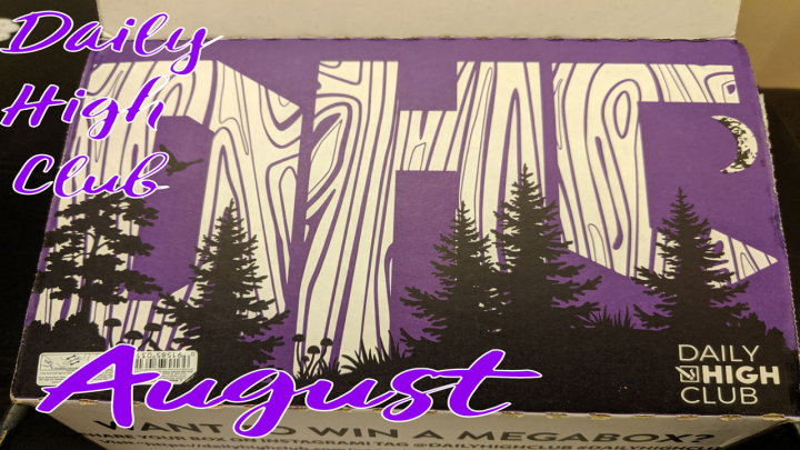 Unboxing The August Daily High Club Box!