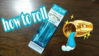 how to roll blue optimos  naturally leaf cigarillo blunt