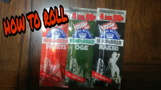 how to roll Royal blunt hemparillo sweets wraps
