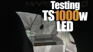 Mars Hydro Ts1000w Led and Tent Overview