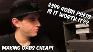 $399 Rosin Press Review, Is It Any Good?????