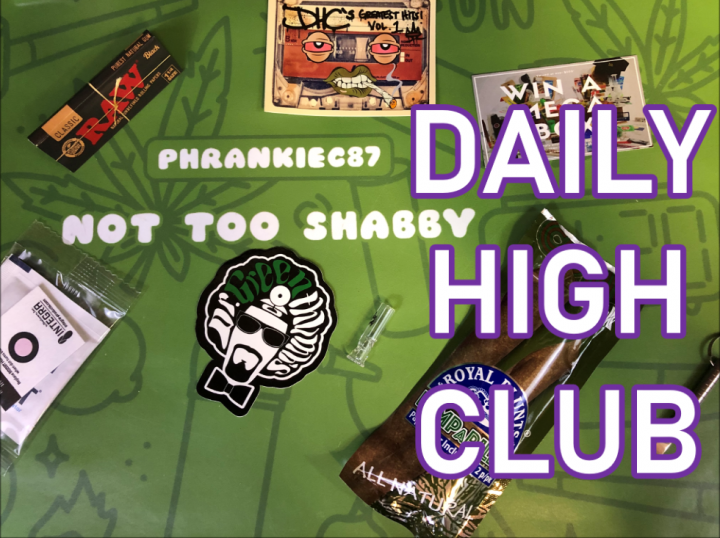 Daily High Club El Primo September 2019 Unboxing