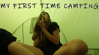 MY FIRST TIME CAMPING - STONER EDITION (VLOG)