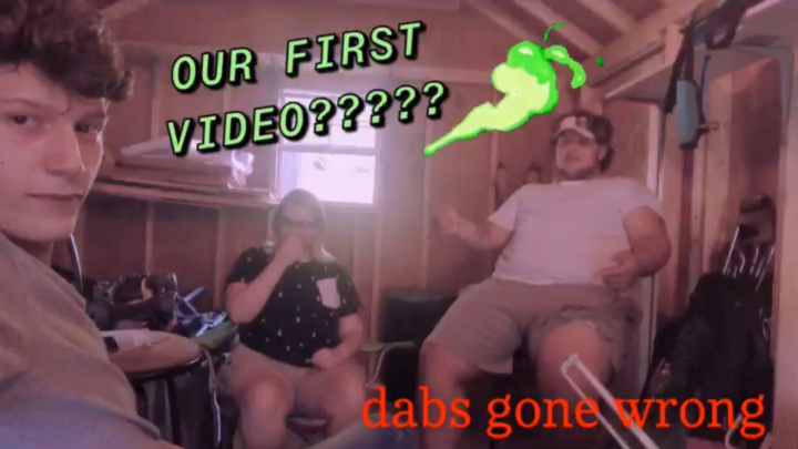 MY FIRST VIDEO!!!! | dab sesh with the boys