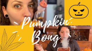 PUMPKIN BONG// with Green_Rose