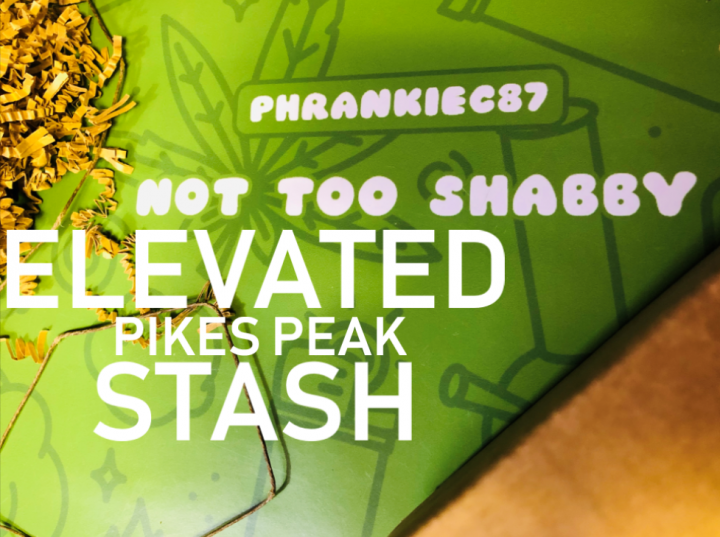 Elevated Stash Pikes Peak Box September 2019 Unboxing