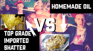 The Video That Nearly Got Us Banned From Youtube. US Shatter Import Vs UK Home Grown Oil