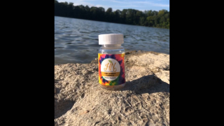 Hippie Naturals ®️ Inc. CBD Gummy Yummies Bottle of Sunshine!
