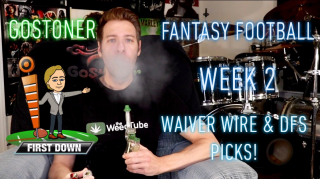 GoStoner's Week 2 Waiver Wire and Fantasy Football Draftkings Picks