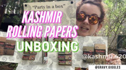 UNBOXING: KASHMIR ROLLING PAPERS