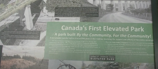 CANADAS FIRST ELEVATED PARK