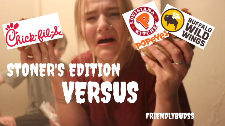 HOTBOX & CHICK-FIL-A VS. POPEYES TEA !! //FRIENDLYBUDSS