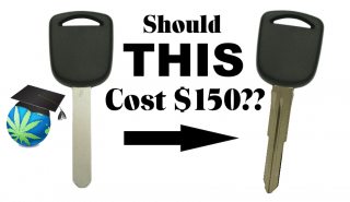 How To Cut Your Car Key For WAY Cheaper - Transponder/Programmable Keys