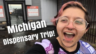 Michigan Dispensary Trip Vlog!