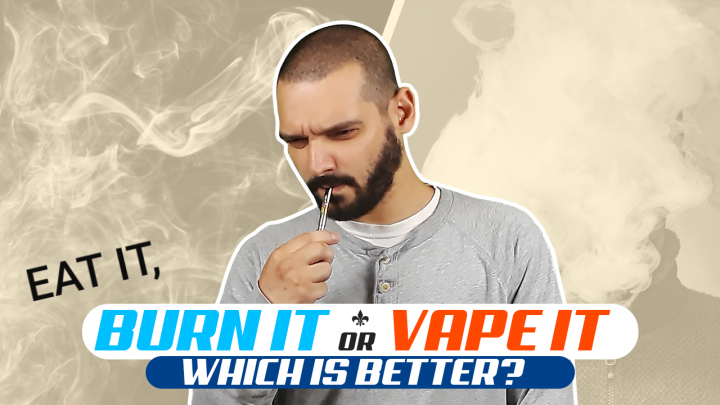 Eat It Burn It Or Vape it | What's The difference Anyway