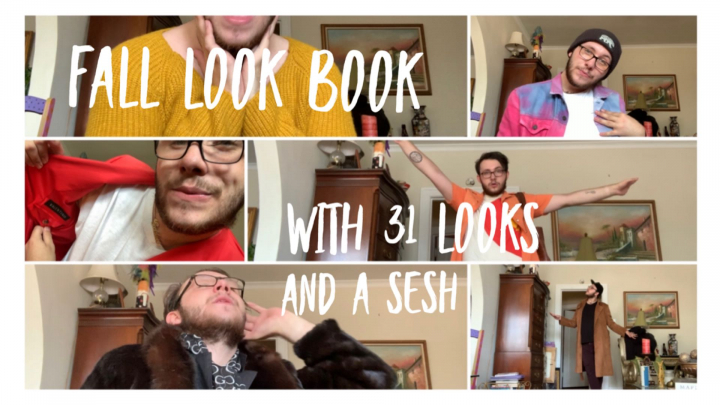 FALL LOOK BOOK ❥ WITH 31 LOOKS AND A SESH
