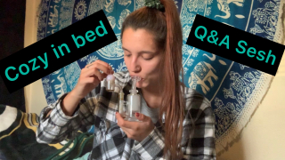 Cozy in bed Q&A sesh