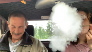 10 Minute Hotbox Challenge With My Dad!