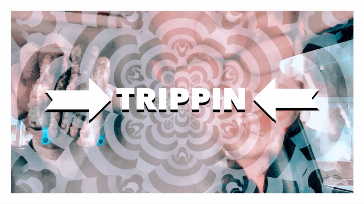 TRIPPIN ❥ a mindful meditation with psychedelic visuals ❥ food to feed our soul
