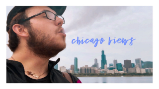 CHICAGO VIEWS ❥ a lakeside sesh ❥ crashing waves asmr ❥ wandering the windy city