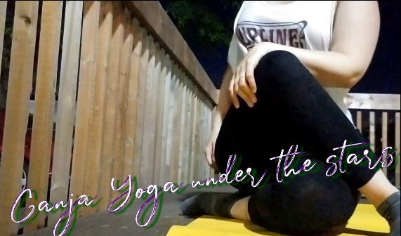 Ganja Yoga under the stars - with founder Dee Dussault