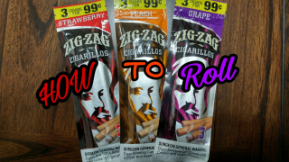 how to roll zig zag strawberry cigarillo blunt