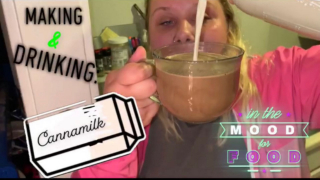 Making Canna Milk & getting high af off it