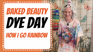 [Baked Beauty] How I Dye My Hair Rainbow
