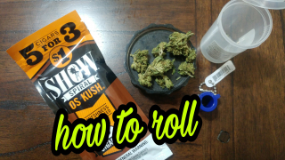 how to roll show os Kush blunt
