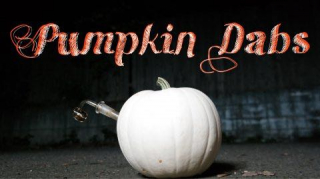 DOING DABS OUT OF A PUMPKIN!!