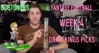 GoStoner's Week 4 Draftkings Fantasy Football Picks