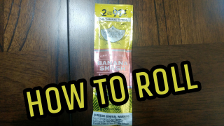 how to roll limited edition Swisher sweet banana smash blunt