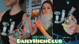 DAILY HIGH CLUB UNBOXING (September 2019) // Silenced Hippie | SilencedHippie