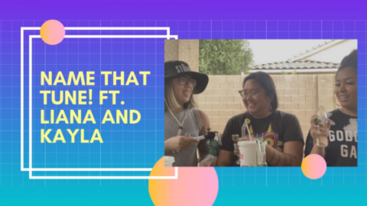 Playing Name That Tune STONED! Ft. Liana and Kayla