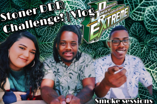Stoner DDR Challenge! | Smoke Session w Illestratorjay.exe