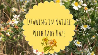 Drawing in Nature With Lady Haze! + Pax 2 Sesh