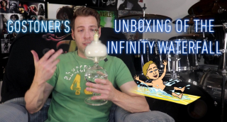 GoStoner's Unboxing of The Infinity Water fall