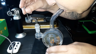 Before and after lunch dabs !