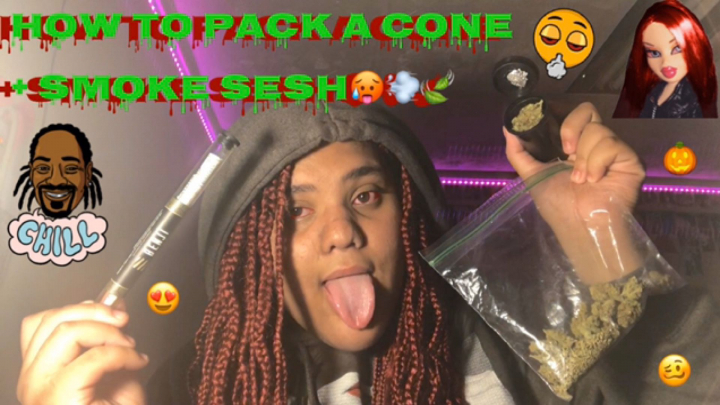 HOW TO PACK A $100 CONE + SMOKE SESH