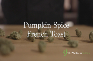 Pumpkin Spice French Toast w/ Infused Whipped Pumpkin Butter