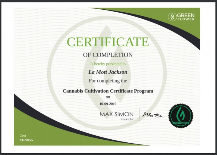 I took Green Flower Academy's Cannabis Cultivation final exam by accident...AND PASSED!!