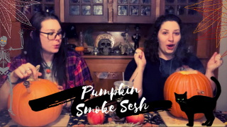 Pumpkin Smoke Sesh// ft _willowedrose