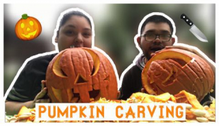 Pumpkin Carving + Halloween Questions!! || Vlogtober