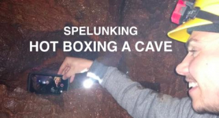 I went spelunking and vlogged it