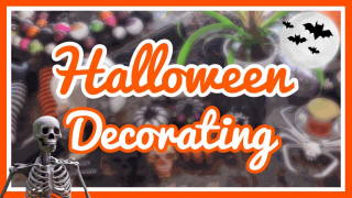DECORATING MY HOUSE FOR HALLOWEEN | BLUNTOBER Day 8