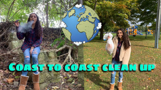Coast to Coast Clean Up Vlog & Nature sesh| Bakedbeauty420