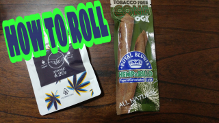 HOW TO ROLL ROYAL BLUNTS HEMPARILLO OGK CONES